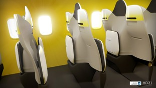 The fold-down seats would bring some passengers face-to-face