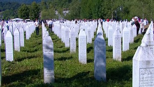 Bosnia commemorates 20th anniversary of the massacre of 8,000 Muslim men and boys