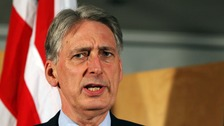 Philip Hammond deplored the 'few individuals' who sought to ruin the event.