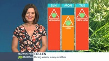 Central Pollen udpate