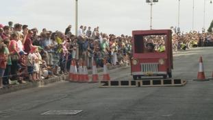 Downhill Derby karts