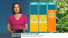 Central Pollen update