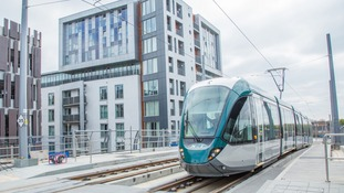 Nottingham's new tram system will finally open tomorrow after delays and disruption