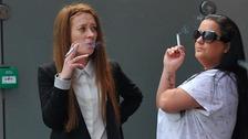 Samantha Cross and Kelly Larkin