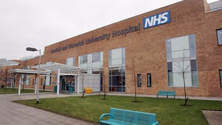 The four were taken to the Norwich & Norwich and James Paget hospitals.