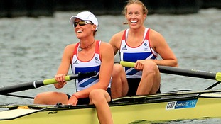 Gold for Reading rowing pair