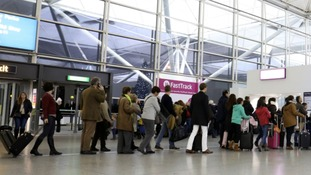 Passenger numbers at Stansted grow.