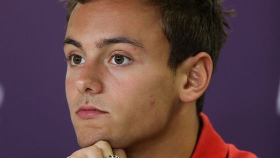 Daley missed out on an Olympic medal in the men's synchronised diving event on Monday.