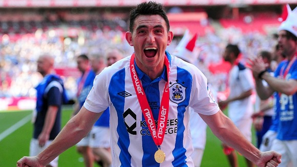 Huddersfield winger Gary Roberts