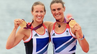 West Country rowing pair win gold