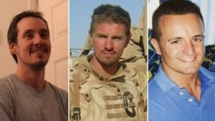 Lance Corporal Edward Maher, Corporal James Dunsby and Lance Corporal Craig Roberts