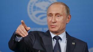 Russia's President Vladimir Putin