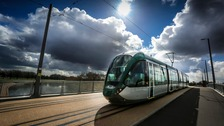 A new Phase Two tram in action