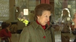 Princess Anne will visit Brandauer in Birmingham today