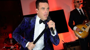 Robbie Williams auctions possessions for Stoke children's charity