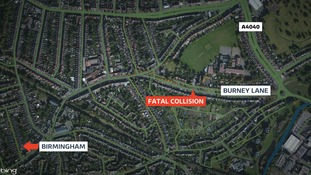 The fatal collision happened in Burney Lane