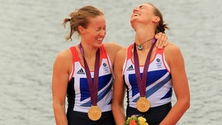 The rowers won Great Britain's women's first ever gold medal.