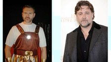 Mark Bickerton was mistaken for Hollywood actor Russell Crowe