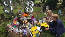 Tributes left to Daniel Pelka on what would have been his eighth birthday