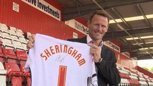 Ex-England striker Teddy Sheringham