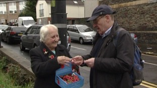 Poppy seller Olive Cooke