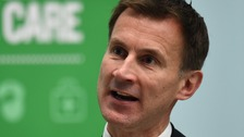 Hunt's challenge BMA to negotiate or face 7-day contract.