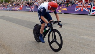 Christopher Froome took bronze