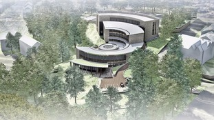 Artist's impression of Harrogate Council's new headquarters.