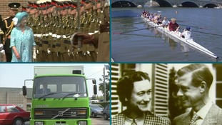 25 years on: Royals, rowing and the first 'green' lorry