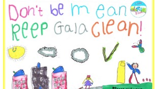 Primary pupils say - keep our streets clean