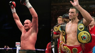 Tyson Fury will face Wladimir Klitschko in October
