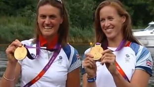 Heather and Helen strike Gold