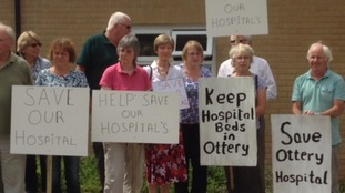 Protesters gather in a final attempt to save Community Hospitals