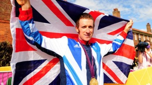 Chorley cyclist  Bradley Wiggins wins gold in the Olympics