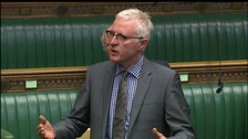 Norman Lamb speaking in the House of Commons.