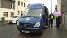 Gwent mobile police van