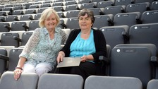 Sir Bobby Robson Foundation of Lady Elsie Robson (left) and John Alder's sister, Joyce Robbins.