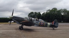 A special tribute was paid to mark 75 years since the start of the Battle of Britain