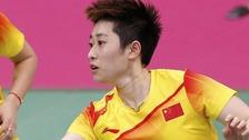 Yu Yang Olympics badminton