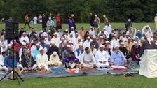 Weather shines on end of Ramadan celebrations
