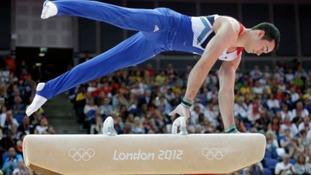 Kristian Thomas setting a new British Olympic record