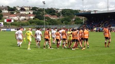 Last week's derby ended badly for Whitehaven.
