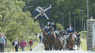 Photos: celebrations in Kelso and Yetholm