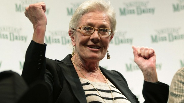 Actress Vanessa Redgrave 