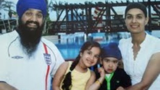 Mr. Dalwinder Singh Sandhu and his family were denied entry to Olympic game for carrying Kirpan