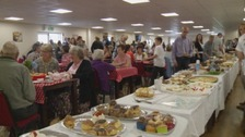 The fundraiser was packed.