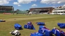 England Ladies Cricket team at Taunton