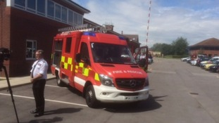 One of the smaller Tactical Response Vehicles which may replace some larger fire engines in North Yorkshire.