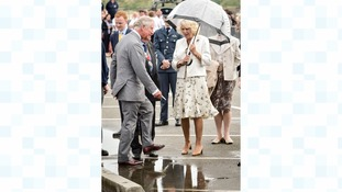 Charles and Camilla in Cornwall