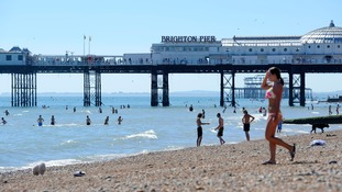 Brighton beach would become a 'no smoking' area under the plans